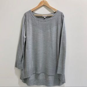 New York & Company Grey Sweater sz XL